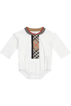 Burberry Baby cotton bodysuit