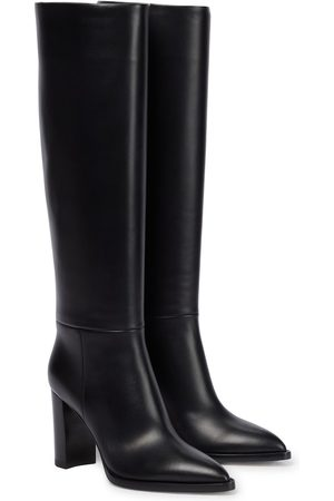 Gianvito Rossi Kerolyn 85 leather knee-high boots