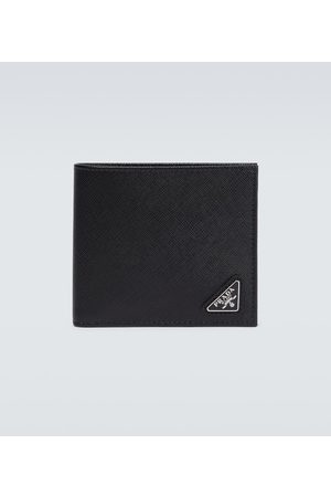Prada Saffiano leather billfold wallet