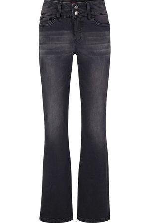 bonprix Stretch-jeans med shaping-effekt, Bootcut