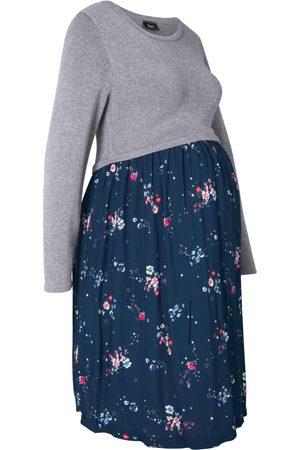 bonprix Dame Strikkede kjoler - Mammakjole i strikk og viskose