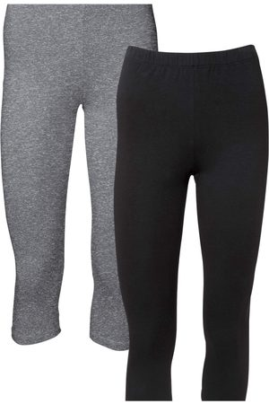 bonprix Capri-leggings, 2-pack
