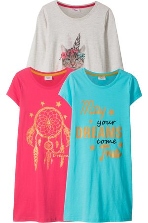 bonprix Jente Nattkjoler - Nattskjorte til jente (3-pack)