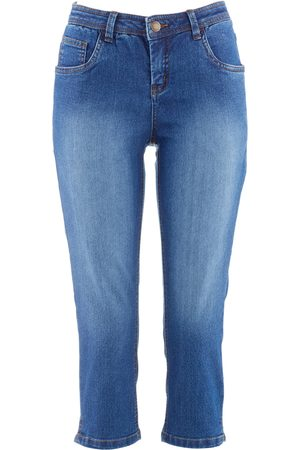 bonprix Komfort-Stretch-Jeans Capri
