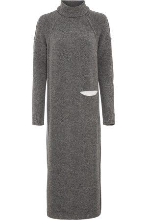 bonprix Dame Strikkede kjoler - Strikkekjole med lomme