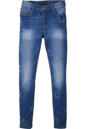 bonprix Jente Skinny - Skinny jeans med stjerner, jente