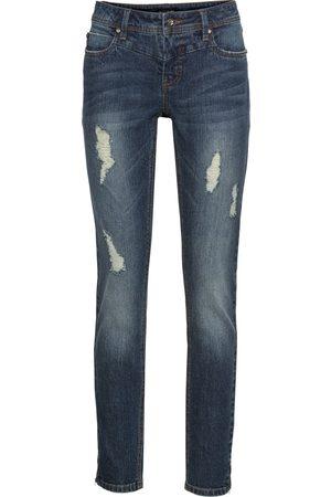 bonprix Dame Stretch - Stretch-jeans, ankellang