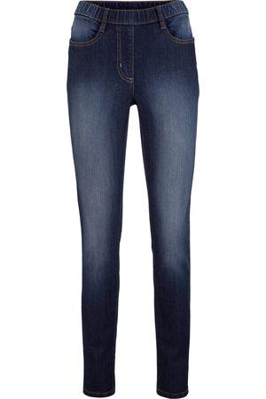 bonprix Jeans-jeggings med behagelig linning, Straight