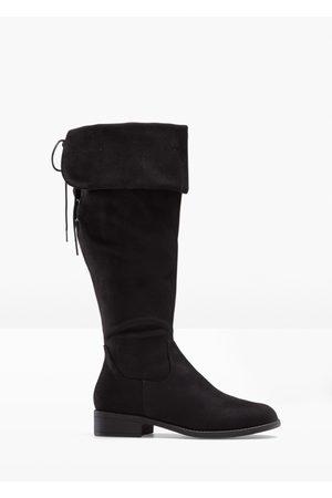 bonprix Dame Høye støvletter - Overknee-støvlett