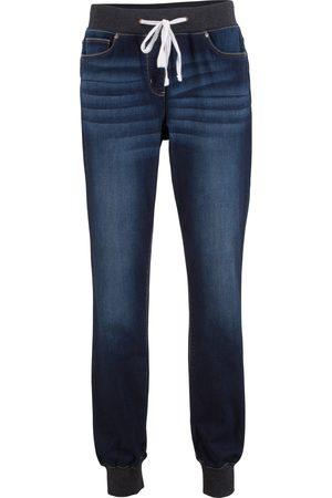 bonprix Boyfriend-jeans med elastisk linning