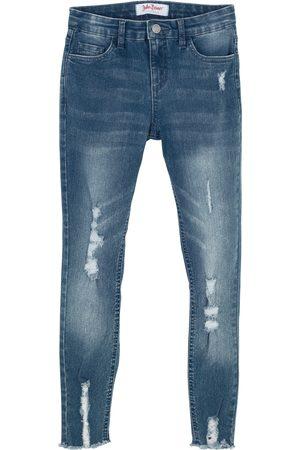 bonprix Skinny jeans til jente, med used effekt