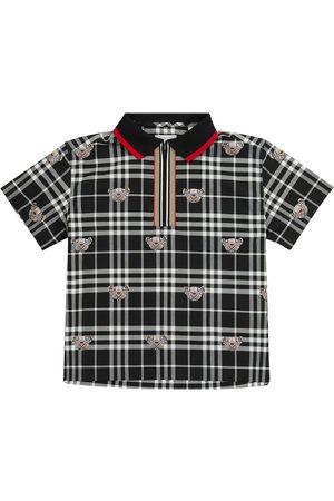 Burberry Thomas Bear cotton polo shirt