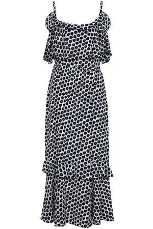 Diane von Furstenberg Harriet floral crêpe midi dress