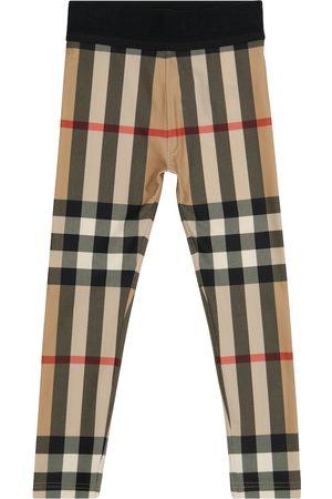 Burberry Jente Leggings - Vintage Check leggings