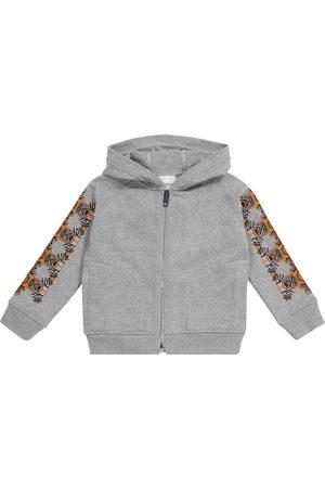 Burberry Thomas Bear cotton zip-up hoodie