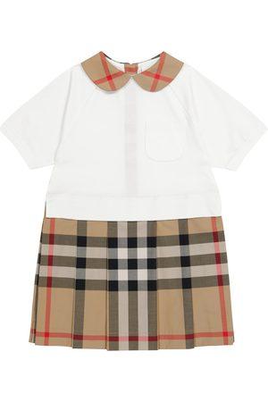 Burberry Archive Check stretch-cotton dress