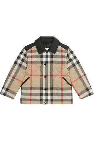 Burberry Gutt Dunjakker - Archive Check quilted jacket