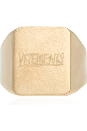 Vetements Ring with logo