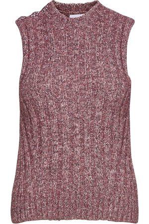 Ganni Dame Vester - Chunky Glitter Knit Vests Knitted Vests