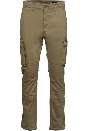 Superdry Herre Cargobukser - Recruit Grip 2.0 Trousers Cargo Pants Beige