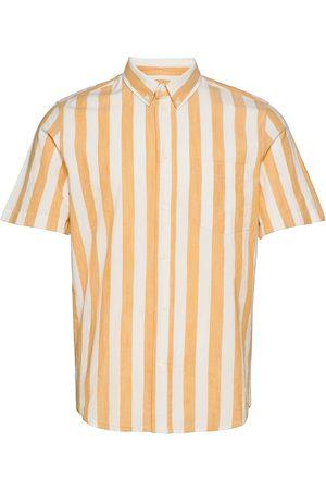 WoodWood Michael Wide Stripe Ss Shirt Kortermet Skjorte