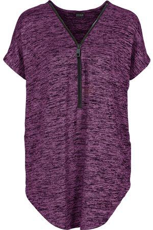 bonprix Oversized T-shirt med glidelås