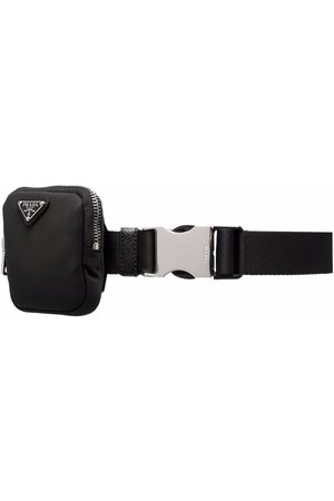 Prada Logo-plaque belt