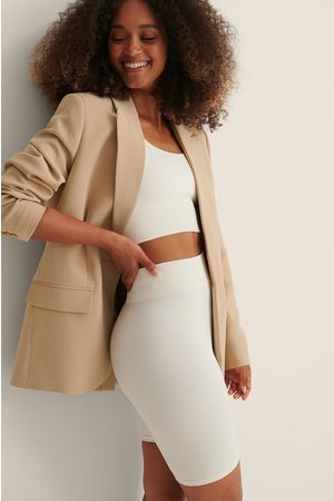 Curated Styles Dame Blazere - Frontlomme Oversized Blazer