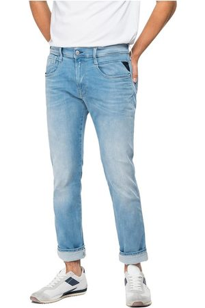 Replay Anbass Hyperflex X.l.i.t.e. Re-Used Jeans Bukser