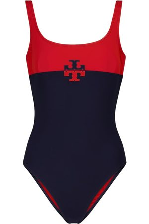 Tory Burch Logo swimsuit