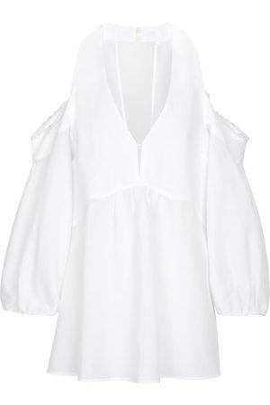 Dorothee Schumacher Dame Bluser - High Summer linen and cotton-blend blouse