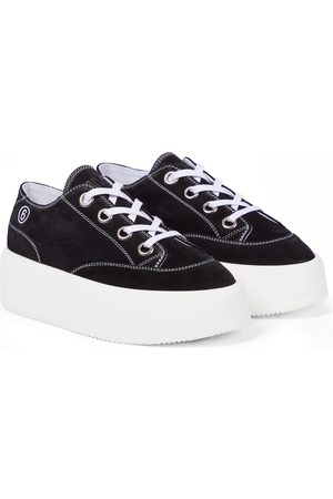 MM6 MAISON MARGIELA Suede platform sneakers