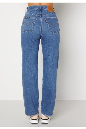 LEVI'S Ribcage Straight Ankle 0099 Jive Together 26/29