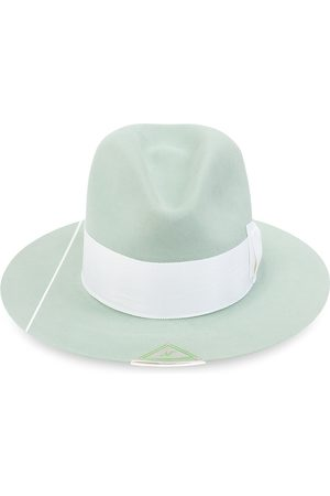 NICK FOUQUET Eucalyptus hat with bow