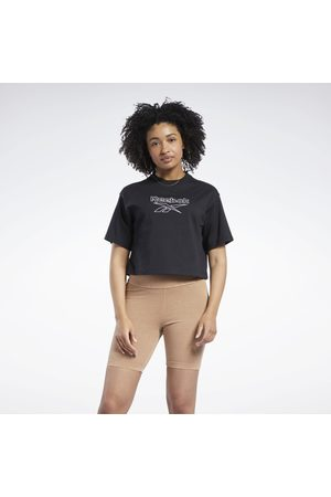 Reebok Dame Kortermede - Classics Big Logo T-Shirt