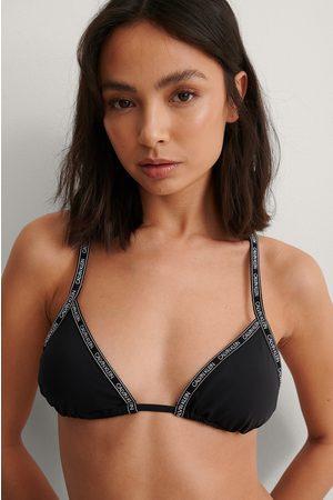 Calvin Klein Dame Bikinier - Bikinitopp Med Logo