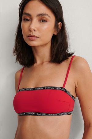 Calvin Klein Dame Bikinier - Logo Bandeau-bikinitopp