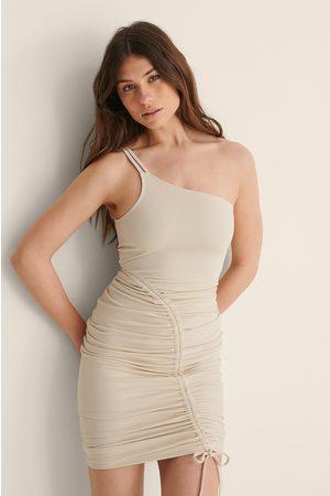 NA-KD Dame Bodycon kjoler - Stropekjole Med Bodycon Og Rysjer
