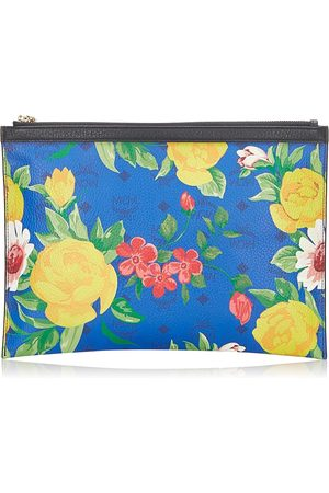 MCM Paradiso Clutch Bag Leather