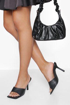 Boohoo Dame Flip flops - Square Toe Mules