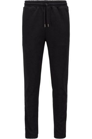 HUGO BOSS Gold Logo Side Stripe Sweat Pants