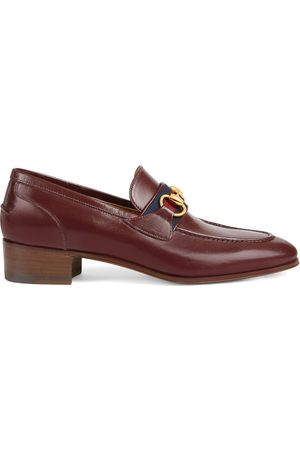 Gucci Dame Loafers - Loafer with Horsebit and Web