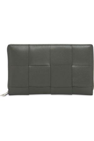 Bottega Veneta Herre Lommebøker - Maxi Intreccio Leather Zip Around Wallet