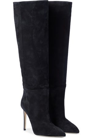 PARIS TEXAS Dame Høye støvletter - Suede knee-high boots
