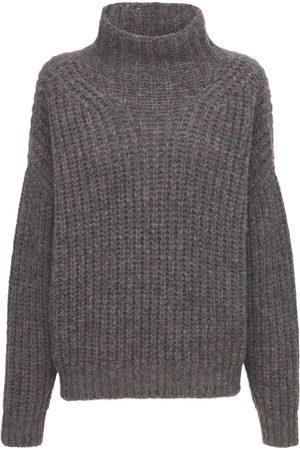 Isabel Marant Dame Pologensere - Iris Turtleneck Alpaca Wool Knit Sweater