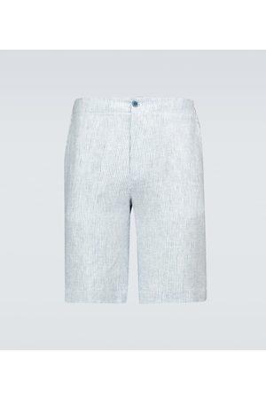 Loro Piana Herre Bermudashorts - André Arizona Solaire linen Bermuda shorts