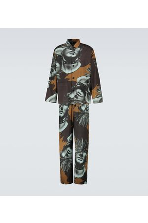 UNDERCOVER Printed relaxed-fit pants