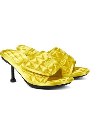 Balenciaga Dame Høyhælte sandaler - Home quilted satin sandals