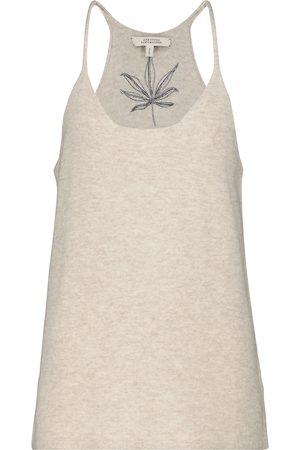 Dorothee Schumacher Cozy Comfort wool and cashmere tank top