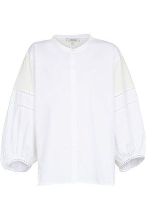 Dorothee Schumacher Lace Lines cotton blouse